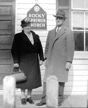 Harry Free and his wife, Estie Kline Free
